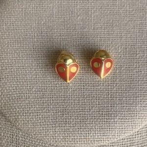 Kate Spade Lady Bug Earrings